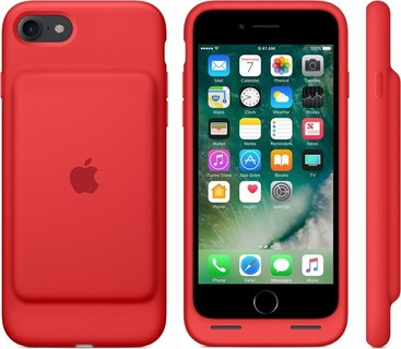 Apple Smart Battery Case for iPhone 7 - Red