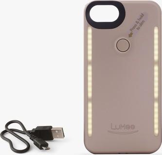Gold iPhone 7 6S 6 LuMee Duo Phone Case