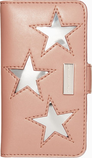 Stella McCartney Pink And Silver Star Phone 6 Cover