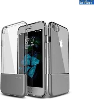 Usams Luxury Ease Series TPU + Aluminium Case for iPhone 7 - Gray Iron