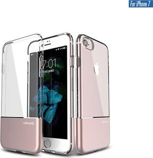 Usams Luxury Ease Series TPU + Aluminium Case for iPhone 7 - Rose Gold