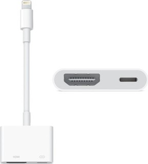 Apple Lightning TO HDMI Digital AV Adapter - MD826ZM/A