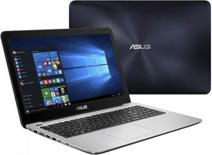 Asus K556UA Laptop, i5-7200U 2.5 3.1GHz 3MB, 4GB, 500GB, DVD, Win 10, 1Yr - Dark Blue