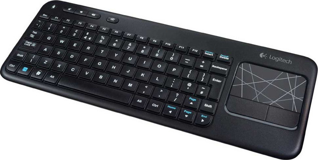 Logitech K400 Plus - 2.4GHz Up to 10m Wi-Fi