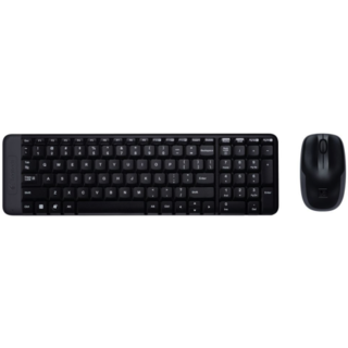 LOGITECH MK220 Wireless Desktop Mouse and Keyboard Combo