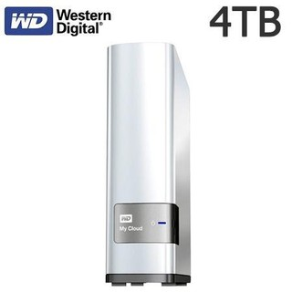 Western Digital WD 4TB My Cloud Personal Secured Storage For PC & Mac,iTunes Support, DLNA UPnP-Certified, 1YR