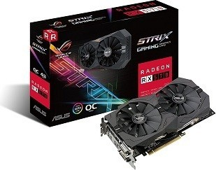 ASUS ROG Strix AMD Radeon RX 570 O4G Gaming OC GDDR5 VR Ready Graphics Card