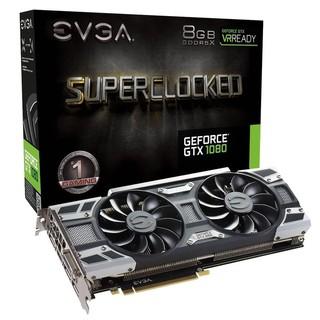 EVGA GeForce GTX 1080 SC GAMING ACX 3.0, 8GB GDDR5X (256 Bit), HDMI, DVI, 3xDP