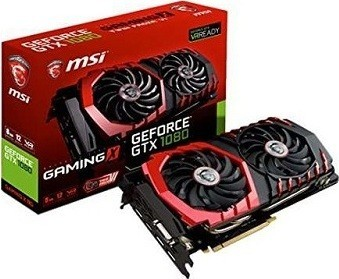 MSI NVIDIA GEFORCE GTX 1080 GAMING X 8G 8 GB GDDR5X Graphics Card