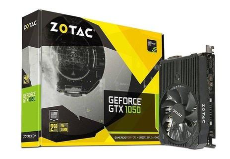 ZOTAC GeForce GTX 1050 Mini, 2GB GDDR5 DisplayPort 128-bit PCI-E Graphic Card