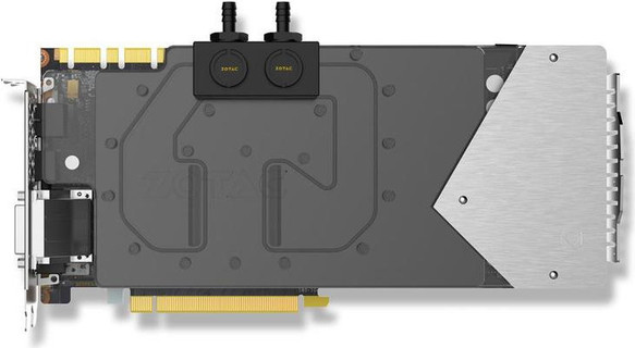 ZOTAC GeForce GTX 1080 ArcticStorm Copper Waterblock, 8GB GDDR5X (256 Bit)