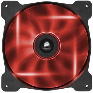 Corsair Air Series AF140 LED Red Quiet Edition High Airflow 140mm Fan
