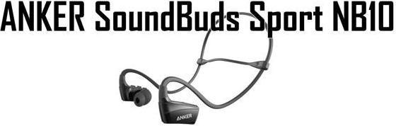 Anker SoundBuds Sport NB10 -Black
