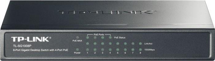 TP-Link TL-SG1008P - 8-Ports LAN PoE Desktop