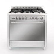 Royxon Gas Cooker Stainless Steel 90 x 60 5 Burners