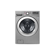 LG Washer Dryer 18 10 KG 1100 RPM Shiny Steel