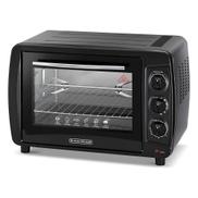 Black u0026amp; Decker Black & Decker Oven 35 Litres TRO35RDG-B5 - Black