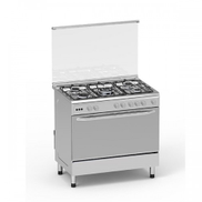 Home Elite Gas Cooker Stainless Steel 90 x 60 5 Burners