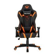 Meetion 180 u0026176; Adjustable Backrest Gaming Chair - Black Orange