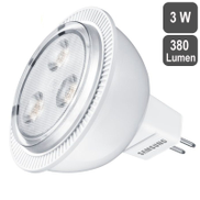 Samsung LED Lamp 380 Lumens MR16 Series 40D, 3W - White