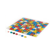TCG Gigantik Snakes u0026amp; Ladders Family Game, Multi-Color