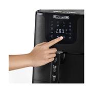 Black u0026amp; Decker Black+Decker Grand Digital Aero Fry, 4.3 Liters, Black