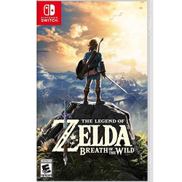 The Legend of Zelda: Breath of the Wild Game for Nintendo Switch