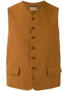 Romeo Gigli Pre-Owned lightweight waistcoat