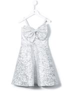 Little Bambah slanted bow dress