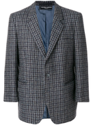 Pierre Cardin Pre-Owned checked notched lapel jacket