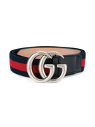 حزام مشبك بشعار Gucci Kids Web
