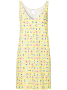 Chanel Pre-Owned hearts print sleeveless dress