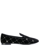 Giuseppe Zanotti embroidered slippers