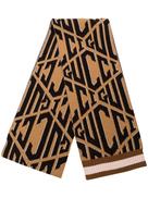 Gucci logo printed scarf