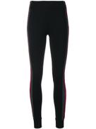 No Ka' Oi embellished side stripe leggings