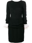 شانيل فستان قصير الطبقات