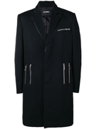 Les Hommes zipped formal coat