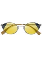 Fendi Eyewear cat-eye tinted sunglasses