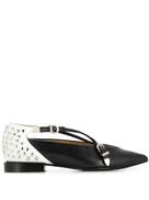 Toga Pulla stud embellished slippers