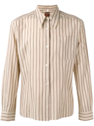 Romeo Gigli Pre-Owned 1990's striped shirt