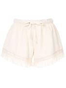 Monse towel boxer shorts