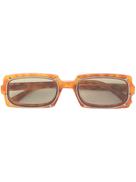Karen Walker Turning rectangular sunglasses