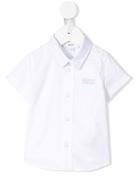 قميص Boss Kids بياقة مدببة
