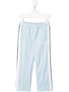Palm Angels Kids side stripe track trousers