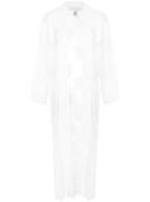 Fleur Du Mal long lace robe