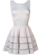 Alaïa Pre-Owned lurex knit flared dress
