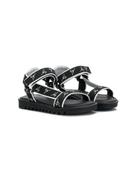 Giuseppe Junior logo sandals