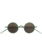 Uma Wang distressed round-frame sunglasses