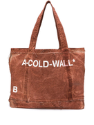 A-Cold-Wall* distressed printed tote