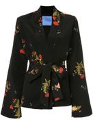 Macgraw Cognac robe coat